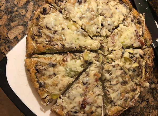 B.A.M.! Frittata (aka Keto Pizza) GF/Keto/Low-Carb