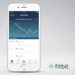 Fitbit Resting Heart Rate Screen