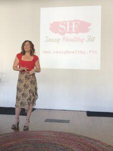 "Speaking on the topic of ""victim mentality vs. hero mindset"""