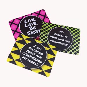 sassy af affirmation card decks