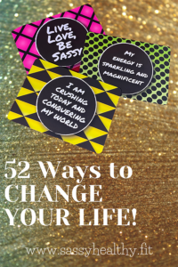 affirmation cards sassy healthy fit
